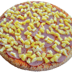 Canadian bacon, pineapple & extra cheese
